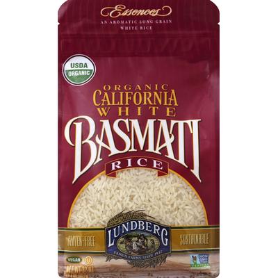 Lundberg Family Farms White Rice, Organic, California, Basmati