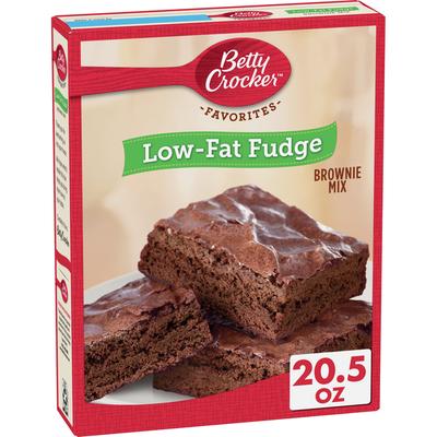 Betty Crocker Low Fat Fudge Brownie Mix Family Size