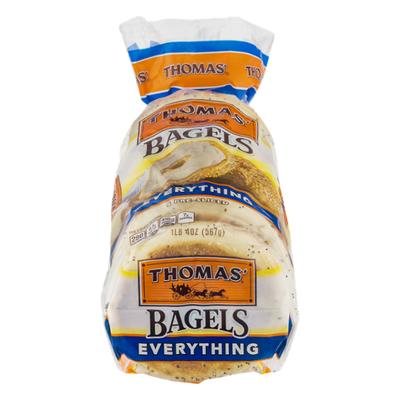 Thomas' Everything Pre-Sliced Bagels