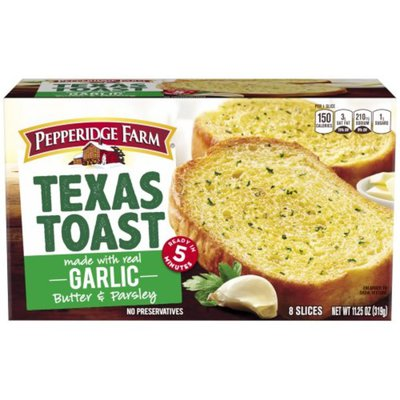 Pepperidge Farm®  Texas Toast Texas Toast Garlic Bread