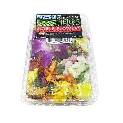 Bay Area Herbs & Specialties Assorted Edible Flowers