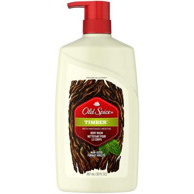 Old Spice Timber Body Wash