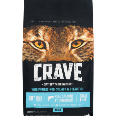 Crave Cat Food with Protein from Salmon & Ocean Fish