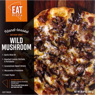 Eat Pizza Pizza, Artisan Crust, Wild Mushroom, Hand-Tossed