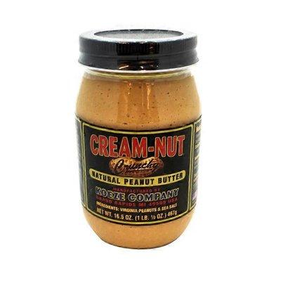 Cream-Nut Crunchy Natural Peanut Butter