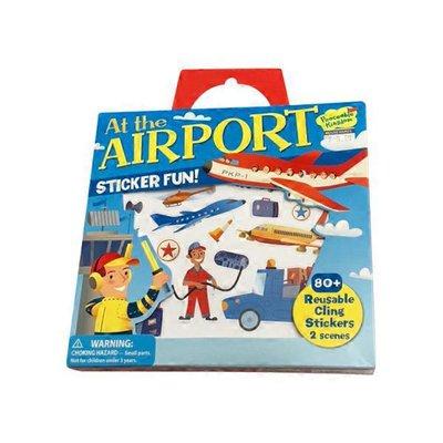 Peaceable Kingdom At The Airport Reusable Sticker Activity Set