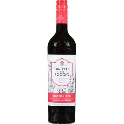 Castello Del Poggio Red, Smooth