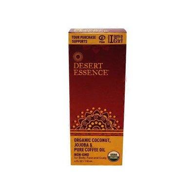 Desert Essence Organic Coconut, Jojoba & Pure Coffee Oil