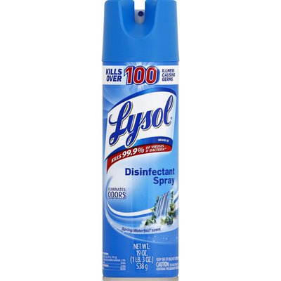 Lysol Disinfectant Spray Spring Waterfall