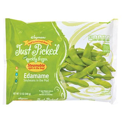 Wegmans Food You Feel Good About Just Picked And Quickly Frozen Edamame