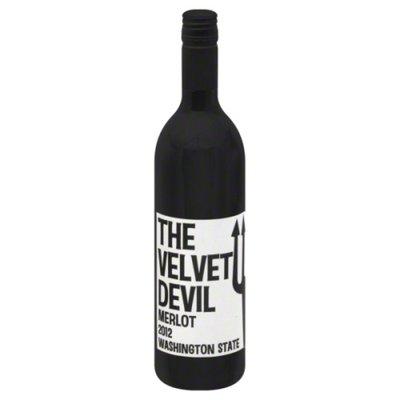 The Velvet Devil Merlot Red Wine