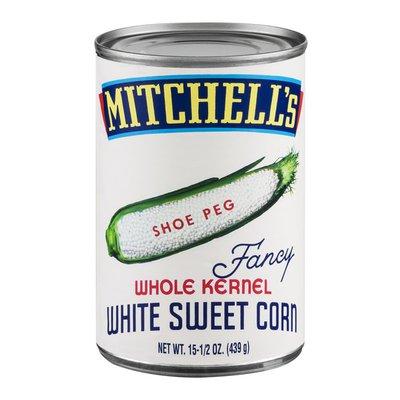 Mitchell's Whole Kernel White Sweet Corn