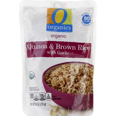 O Organics Quinoa & Brown Rice, Organic, with Garlic
