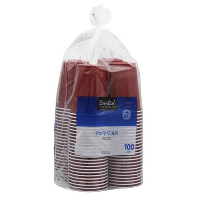 Essential Everyday Plastic 18 Oz. Party Cups