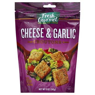 Fresh Gourmet Croutons, Cheese & Garlic