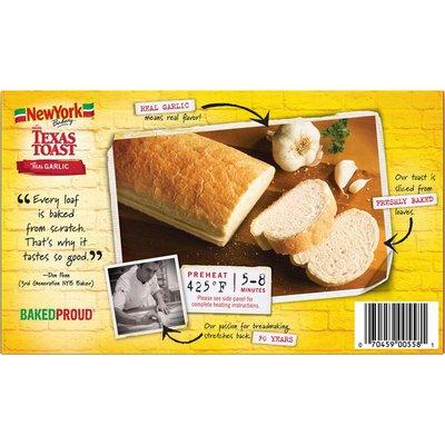 New York Bakery Bakery The Original Texas Toast with Real Garlic