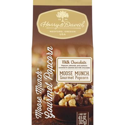 Harry & David Popcorn, Gourmet, Milk Chocolate