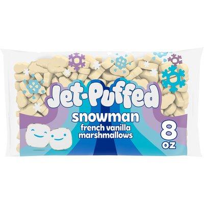 Jet-Puffed French Vanilla Snowman Shaped Winter Marshmallows