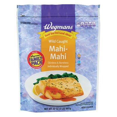 Wegmans Food You Feel Good About Wild Caught Mahi Mahi, Skinless & Boneless, Family Pack