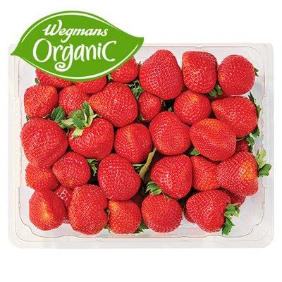 Organic Strawberries Package