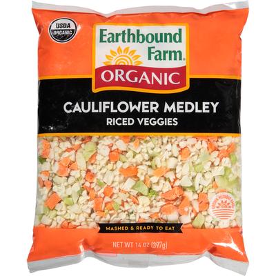 Earthbound Farms Riced Veggies, Cauliflower Medley