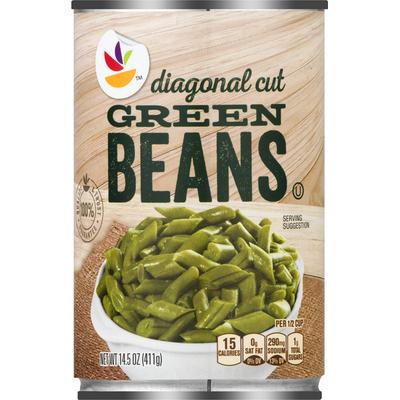 SB Green Beans, Diagonal Cut