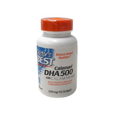 Doctor's Best Science-Based Nutrition Best Dha Dietary Supplement, 500 Mg