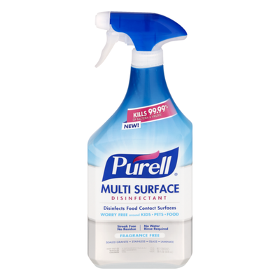 Purell Multi Surface Disinfectant Fragrance Free