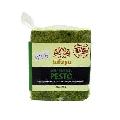 Tofu Yu Firm Pesto Tofu