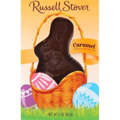 Russell Stover Caramel, Covered in Milk Chocolate
