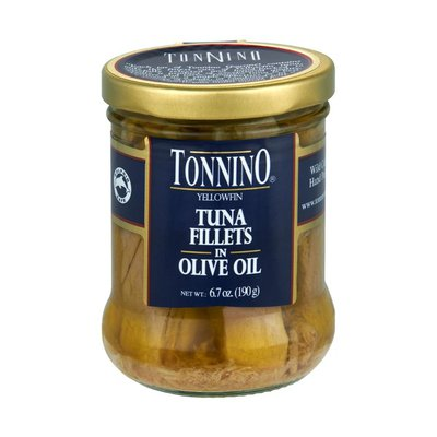 Tonnino Tuna, in Olive Oil, Fillets
