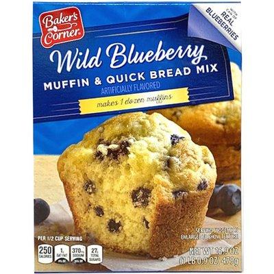 Baker's Corner Blueberry Muffin Mix