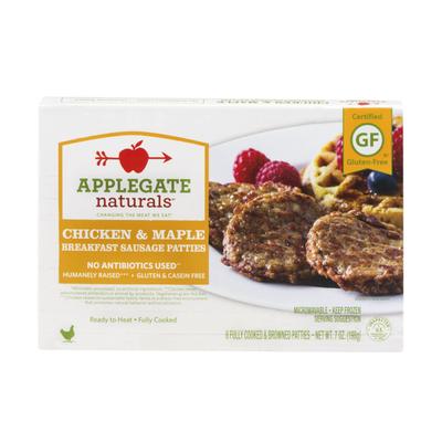Applegate Natural Chicken & Maple Breakfast Sausage Patty