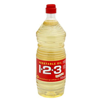 1-2-3 Vegetable Cooking Oil
