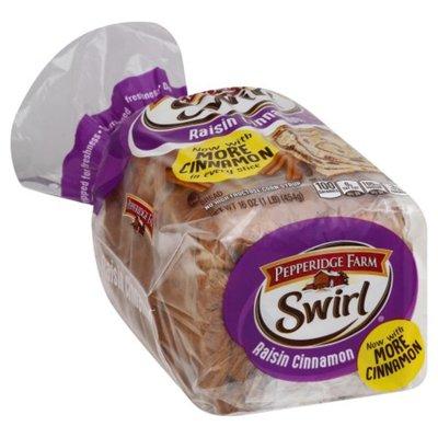 Pepperidge Farm Raisin Cinnamon Swirl Bread