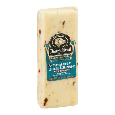 Boar's Head Cheese, Jalapeno Pepper Jack