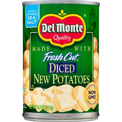 Del Monte New Potatoes, Diced