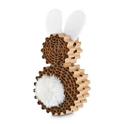 Leaps & Bounds Bunny Kitten Scratch Toy