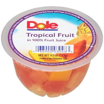 Dole in 100% Fruit Juices Tropical Fruit