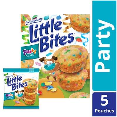 Entenmann's Entenmann's Little Bites Party Cake Muffins