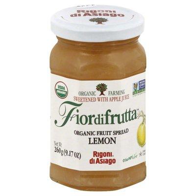 Fiordifrutta Fruit Spread, Organic, Lemon