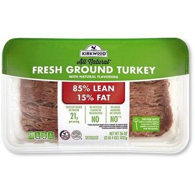 Kirkwood 85% Lean 15% Fat Fresh Ground Turkey