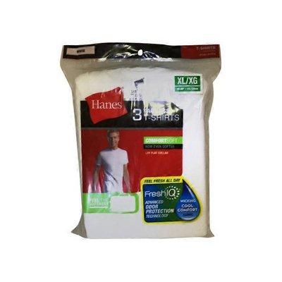 Hanes Men's Extra Large Tagless White T-Shirts