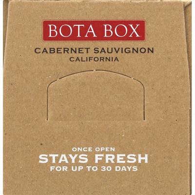 Bota Box Cabernet Sauvignon, California, 2018