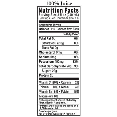 Tropicana No Pulp 100% Orange Juice