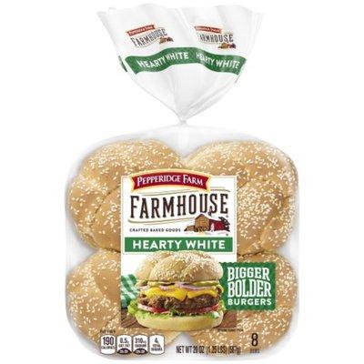Pepperidge Farm® Hearty White Hamburger Buns