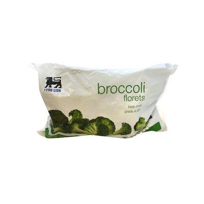 Food Lion Broccoli Florets, Fresh Frozen, Grade A Fancy, Bag