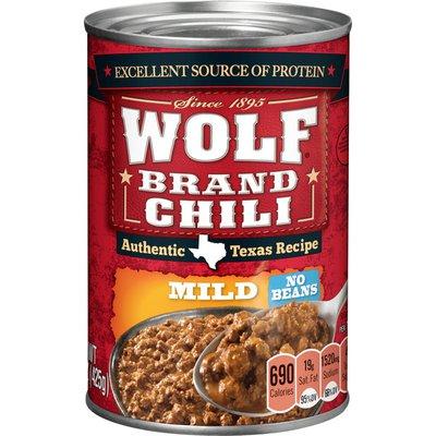 Wolf Brand Mild Chili No Beans