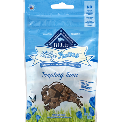 Blue Treats for Cats, Natural Soft-Moist, Tempting Tuna