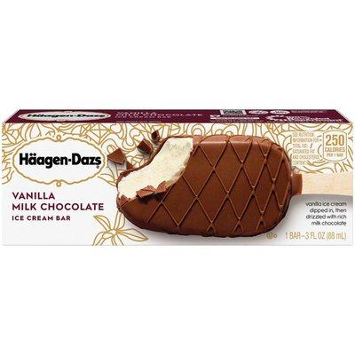 Haagen-Dazs Vanilla Milk Chocolate Ice Cream Bar